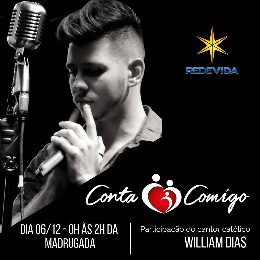 Programa Canta comigo - Com a participação do cantor católico William Dias